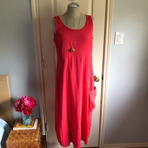 Eileen Fisher Dress red